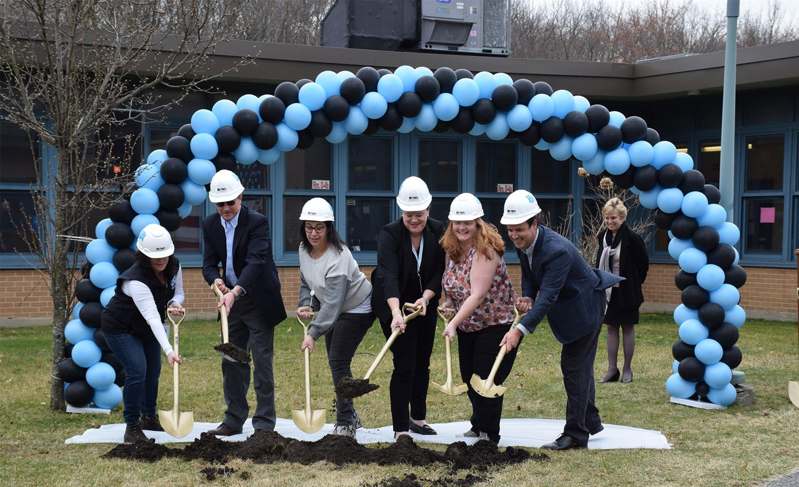 Rye Neck Celebrates Groundbreaking for STEM Wing and Middle School Gymnasium