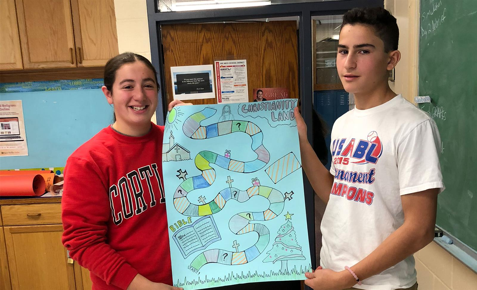 High School Students Design Original Board Games photo