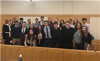 First-Round Verdict in Favor of Mock Trial Team photo