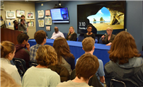 Students Discuss Human Rights With Community Leaders photo
