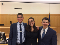 First-Round Verdict in Favor of Mock Trial Team photo 2