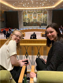 Students Discuss Nuclear Weapons at United Nations photo 2
